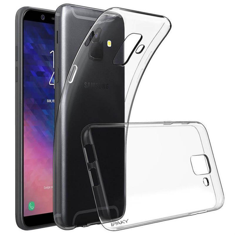 TPU чехол iPaky Clear Series (+стекло) для Samsung J600F Galaxy J6 (2018)