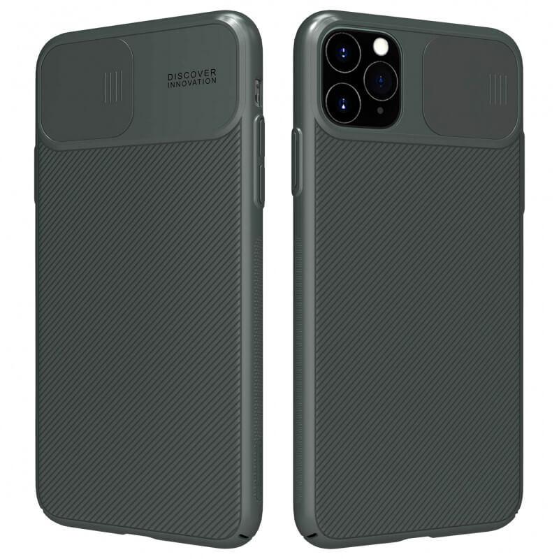 "Карбоновая накладка Nillkin Camshield (со шторкой для камеры) для Apple iPhone 11 Pro (5.8"")"