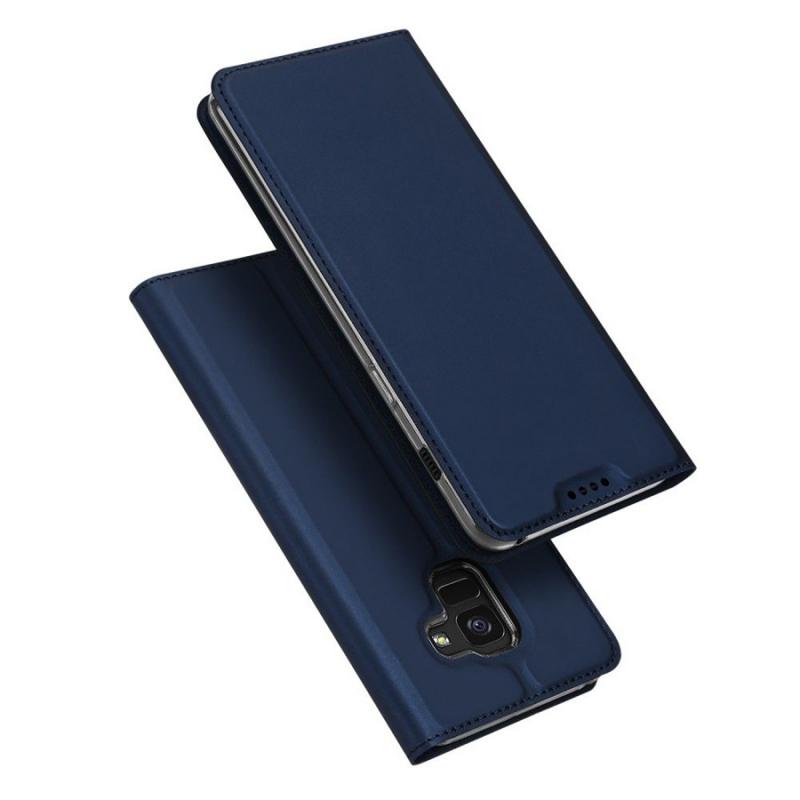 Чехол-книжка Dux Ducis с карманом для визиток для Samsung A730 Galaxy A8+ (2018)