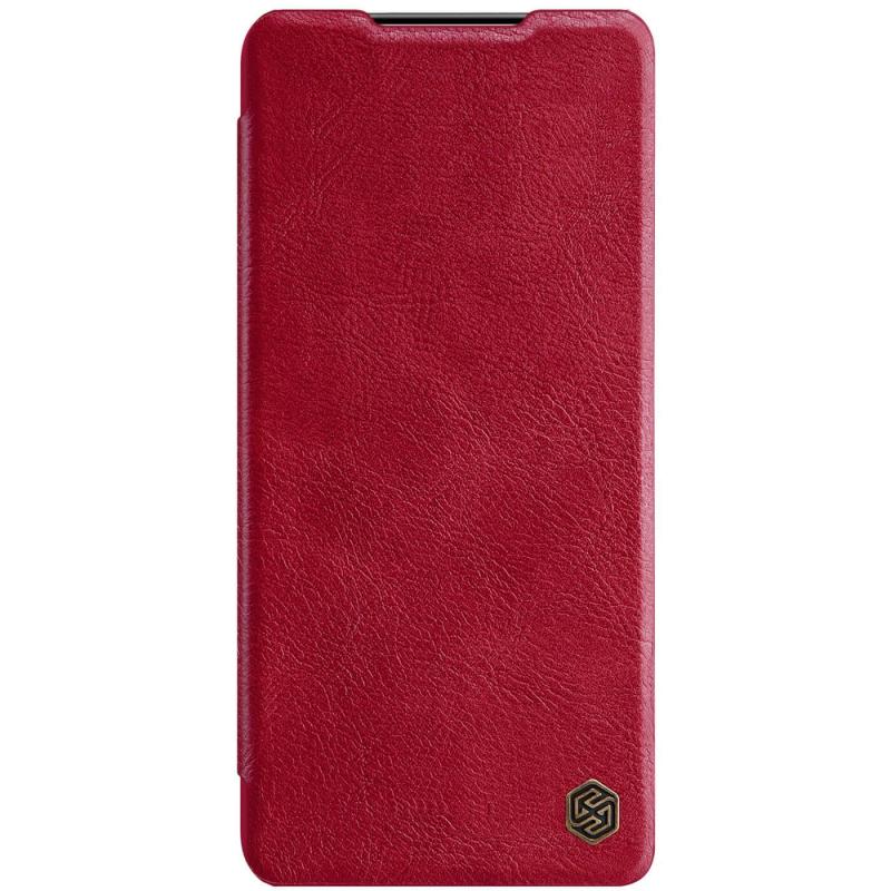 Кожаный чехол (книжка) Nillkin Qin Series для Samsung Galaxy S21+