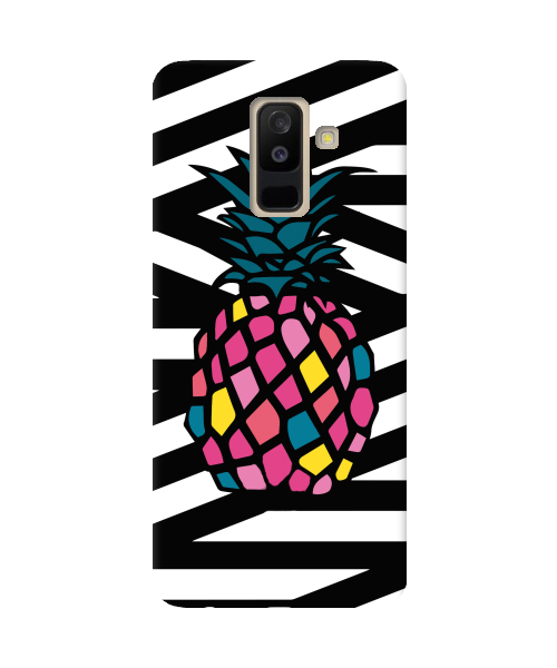 Чехол Zebra&Pineapple для Samsung Galaxy A6 Plus (2018)