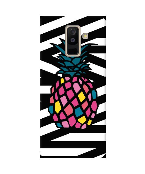 Чехол Zebra&Pineapple для Samsung Galaxy A6 Plus (2018)