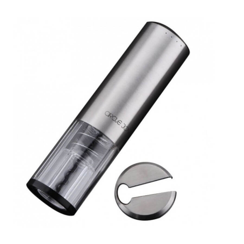 Штопор Xiaomi Electric Wine Bottle Opener Circle Joy Silver (CJ-EKPQ01)