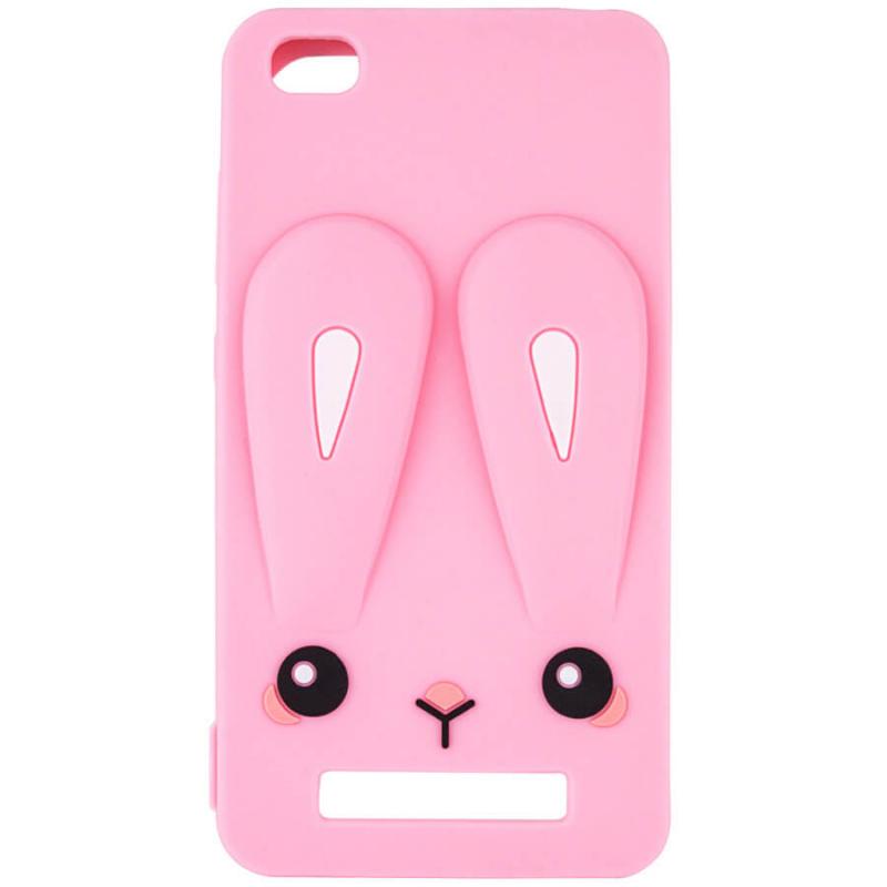 Силиконовая накладка 3D Child Bunny для Xiaomi Redmi 4a