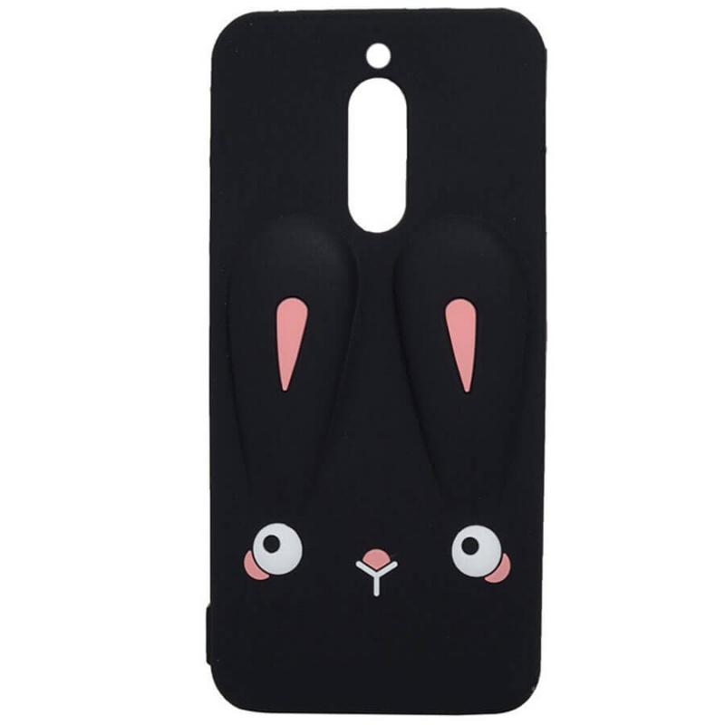 Силиконовая накладка 3D Child Bunny для Xiaomi Redmi 8