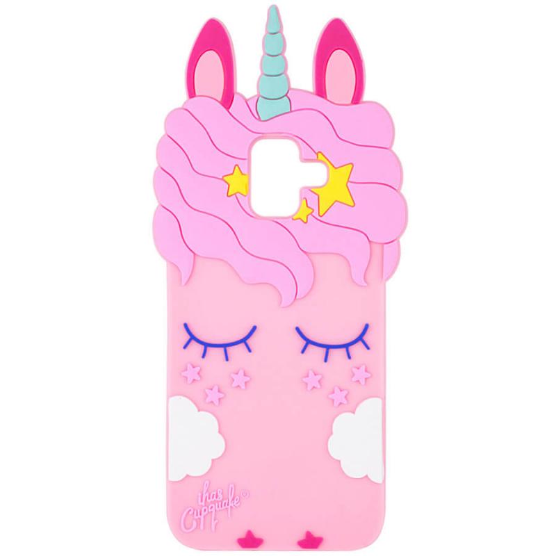Силиконовая накладка 3D Little Unicorn для Samsung Galaxy A6 (2018)