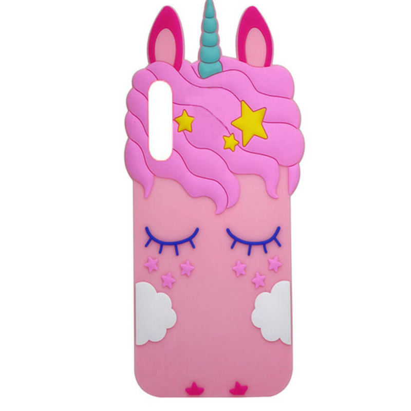 Силиконовая накладка 3D Little Unicorn для Samsung Galaxy A70 (A705F)