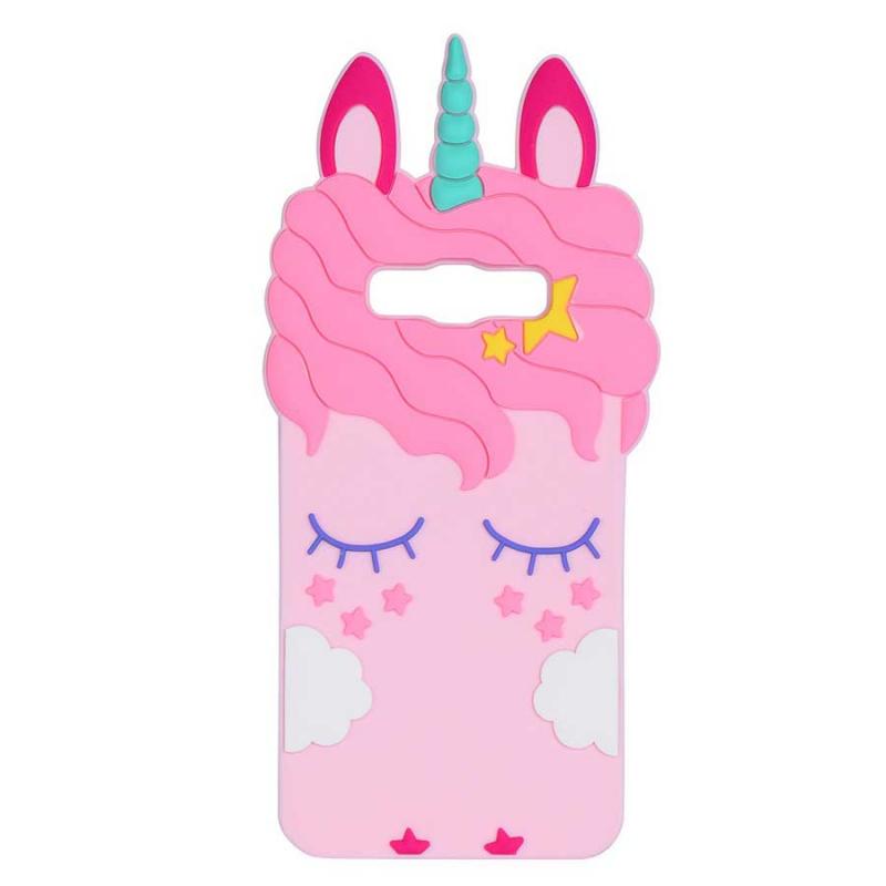 Силиконовая накладка 3D Little Unicorn для Samsung J320F Galaxy J3 (2016)