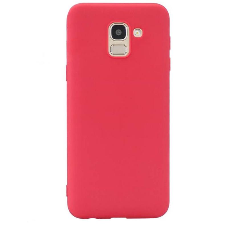 Силиконовый чехол Candy для Samsung J600F Galaxy J6 (2018)