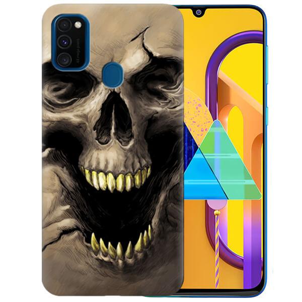 Силиконовый чехол Scary Skull для Samsung Galaxy M30s
