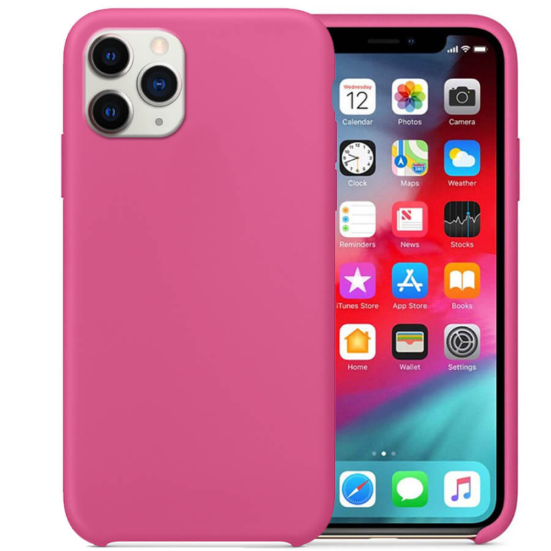 "Чехол Silicone Case without Logo (AA) для Apple iPhone 11 Pro Max (6.5"")"