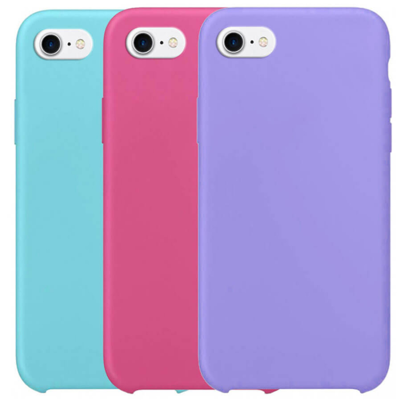 "Чехол Silicone Case without Logo (AA) для Apple iPhone 7 (4.7"")"