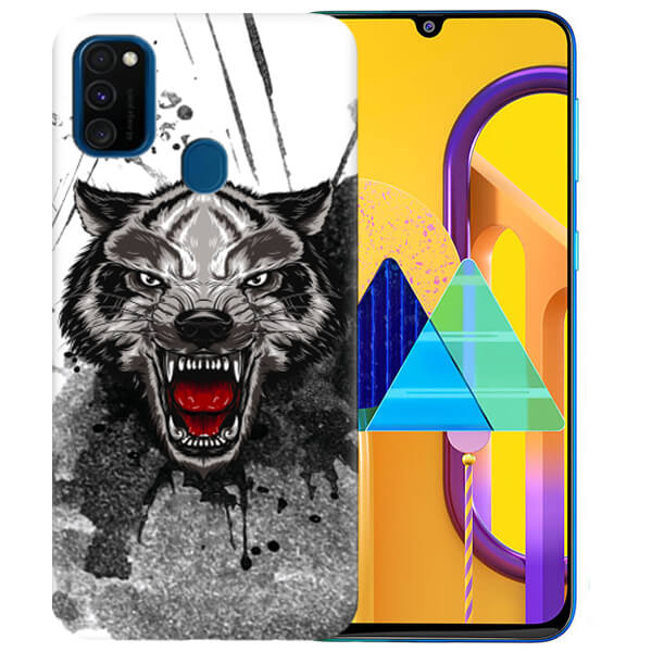 Силиконовый чехол Urban Wolf для Samsung Galaxy M30s