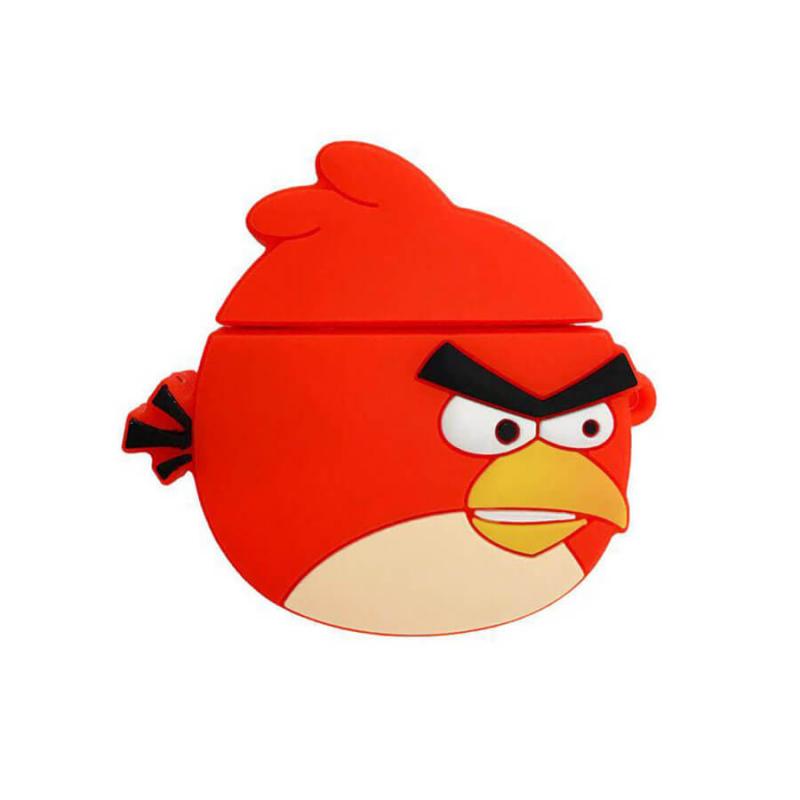 Силиконовый футляр Angry Birds series для наушников AirPods