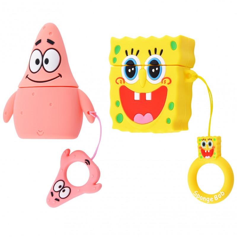 Силиконовый футляр SpongeBob series для наушников AirPods