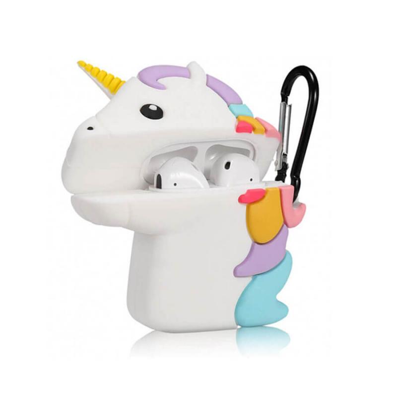 Силиконовый футляр Unicorn series для наушников AirPods