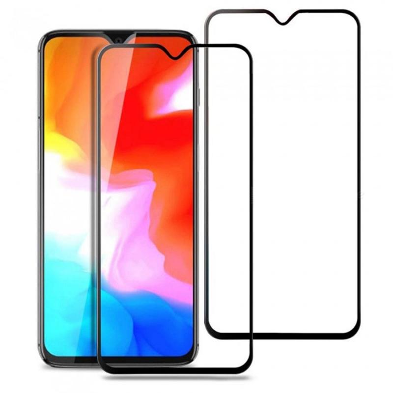 Защитное цветное стекло Mocolo (full glue) на весь экран для TP-Link Neffos X20