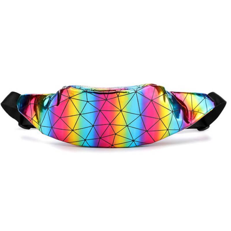 Сумка на пояс (бананка) Geometrick Rainbow
