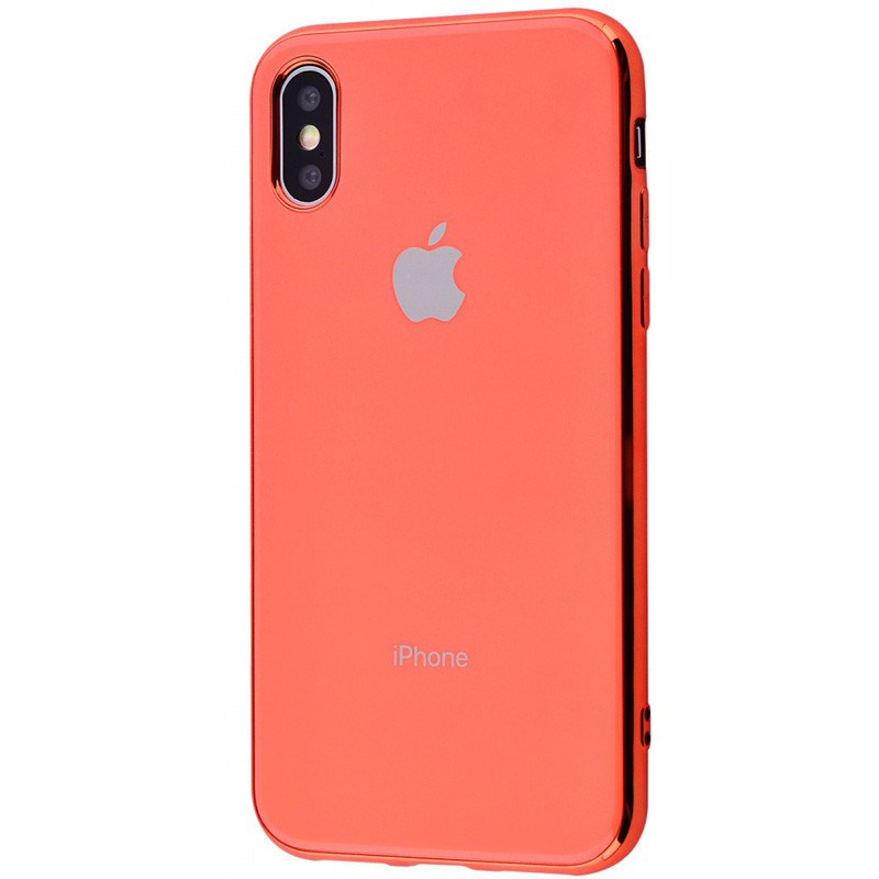 "TPU чехол GLOSSY LOGO для Apple iPhone X / XS (5.8"")"