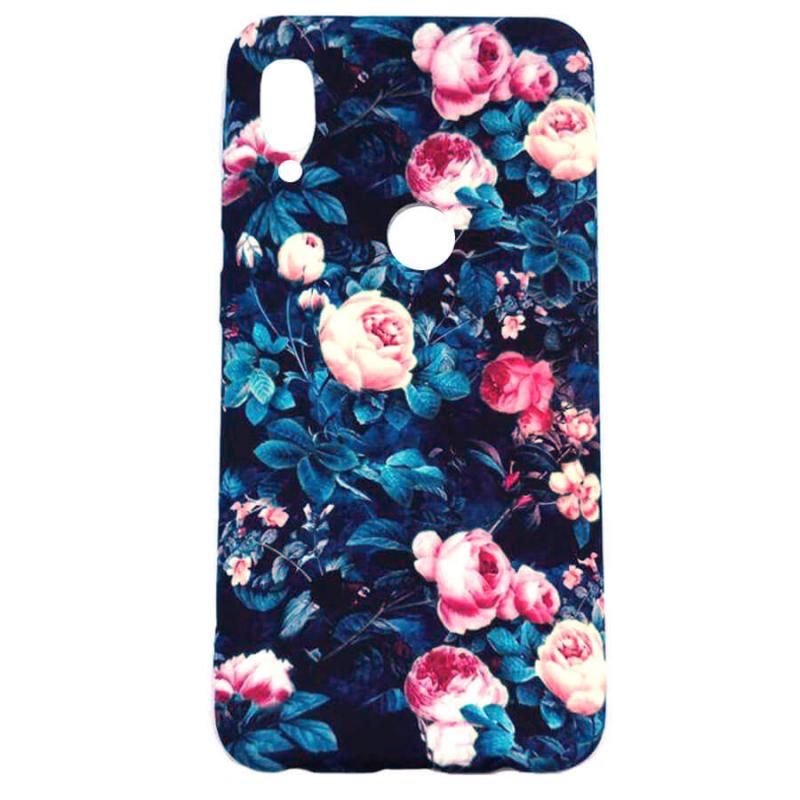 TPU чехол Акварель Flower series для Huawei P Smart Z