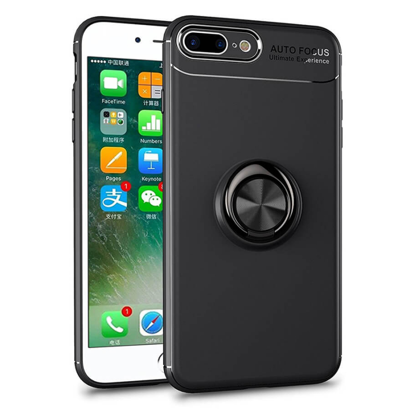 """TPU чехол Deen ColorRing под магнитный держатель для Apple iPhone 7plus/8 plus(5.5"""")"""