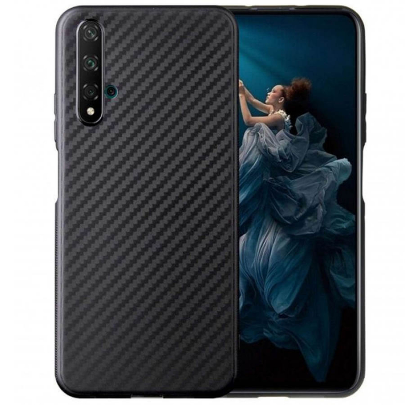 TPU чехол Epic Carbon для Huawei Honor 20 / Nova 5T