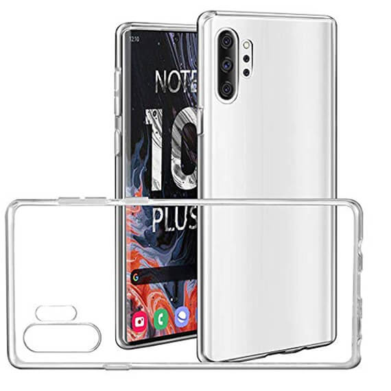 TPU чехол Epic Premium Transparent для Samsung Galaxy Note 10 Plus