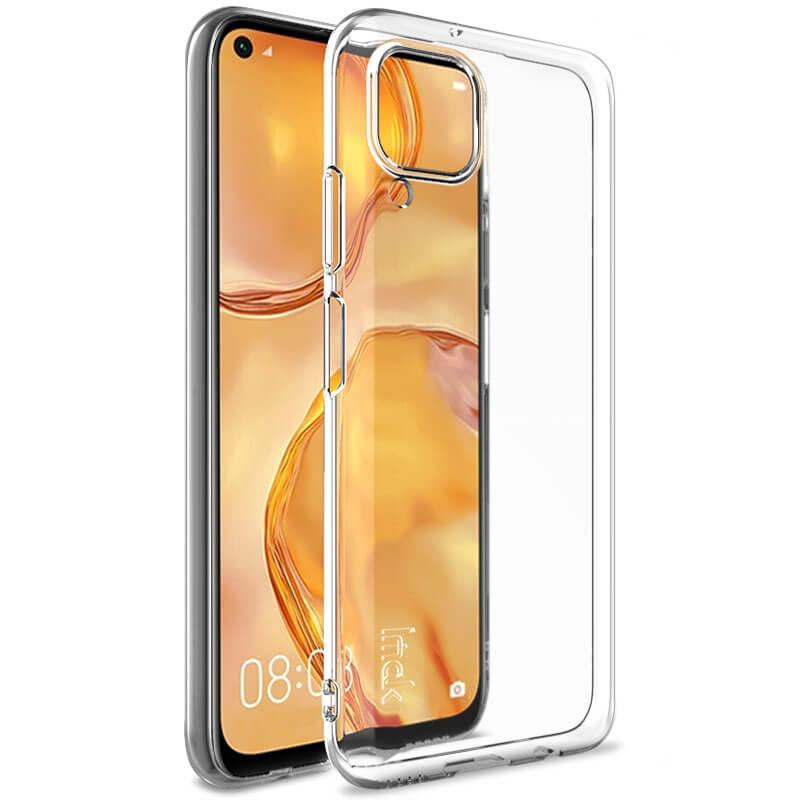 TPU чехол Epic Transparent 1,0mm для Huawei P40 Lite