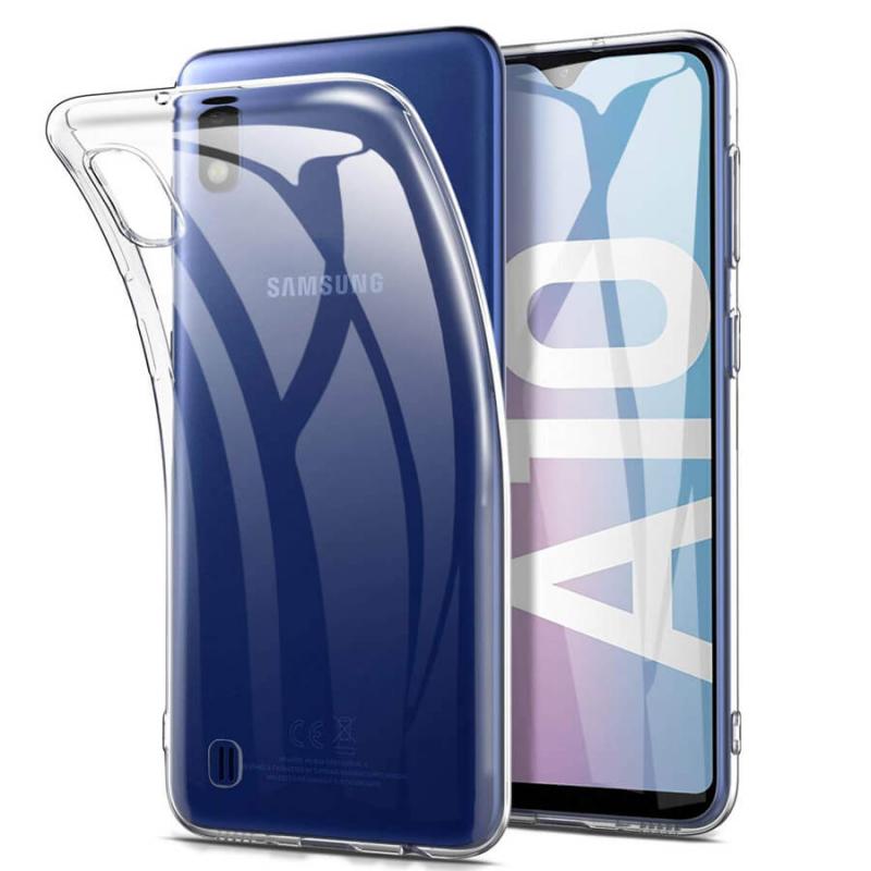 TPU чехол Epic Transparent 1,0mm для Samsung Galaxy A10 (A105F)