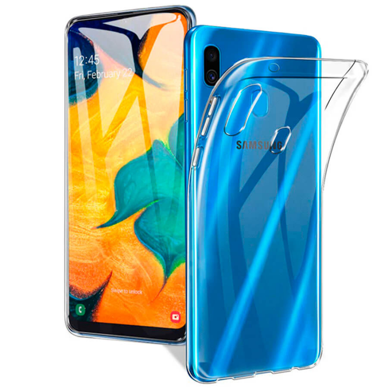 TPU чехол Epic Transparent 1,0mm для Samsung Galaxy A20 / A30