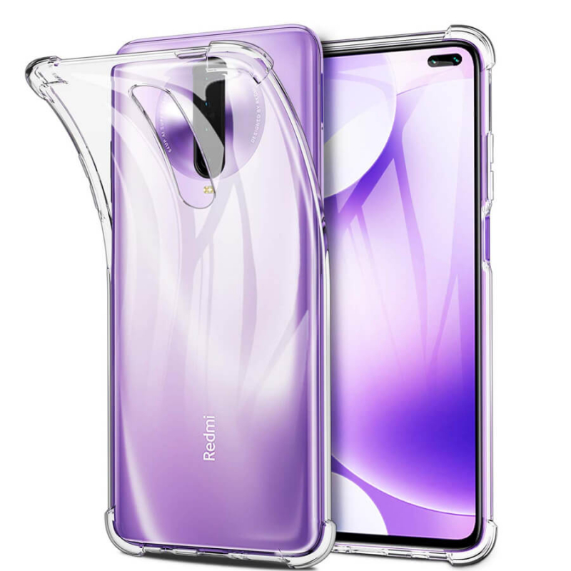 TPU чехол Epic Transparent 1,0mm для Xiaomi Redmi K30 / Poco X2