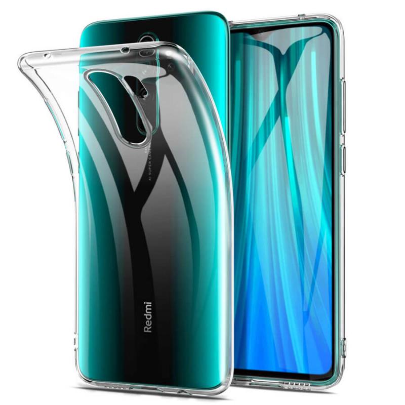 TPU чехол Epic Transparent 1,0mm для Xiaomi Redmi Note 8 Pro