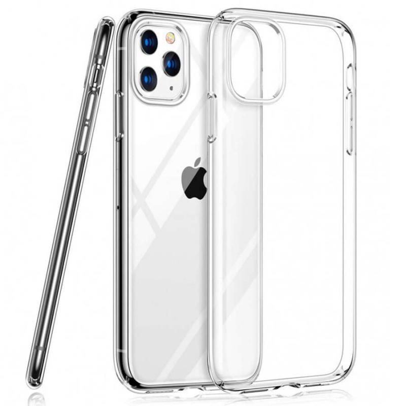 "TPU чехол Epic Transparent 2,00 mm для Apple iPhone 11 Pro Max (6.5"")"