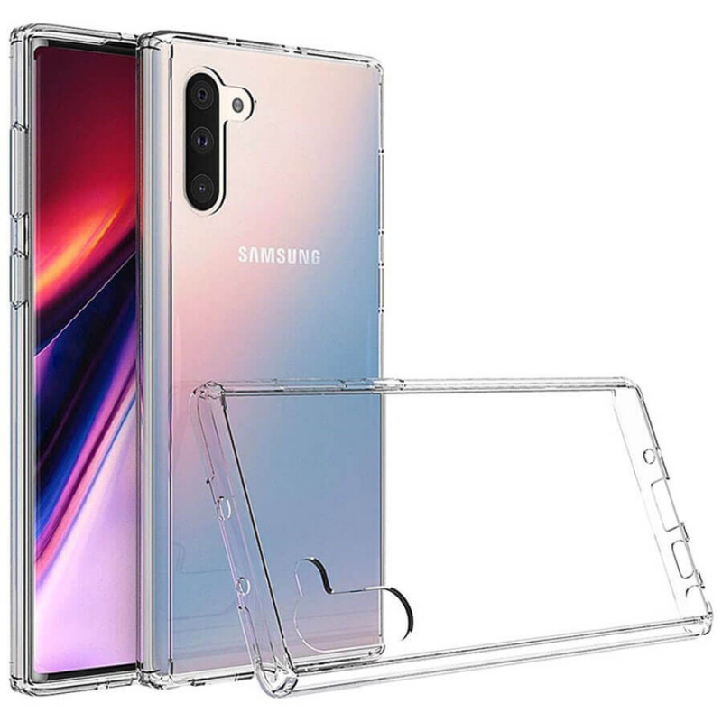 TPU чехол Epic Transparent 2,00 mm для Samsung Galaxy Note 10