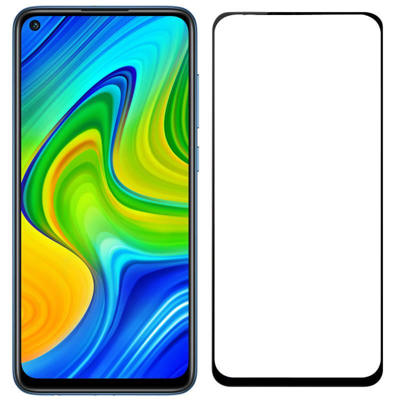 Защитное стекло 2.5D CP+ (full glue) для Xiaomi Redmi Note 9 / Redmi 10X / Note 9T