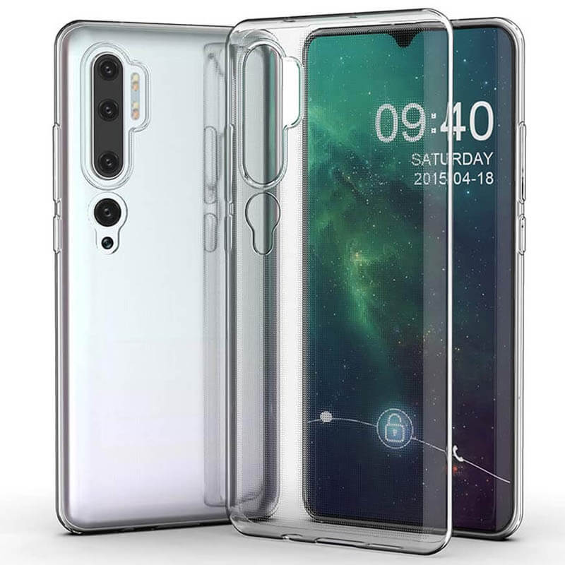 TPU чехол GETMAN Transparent 1,0 mm для Xiaomi Mi Note 10 / MI Note 10 Pro / CC9 Pro
