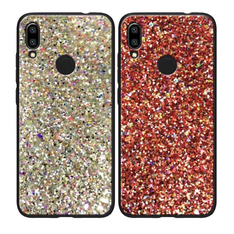 TPU чехол Glitter Crystal для Xiaomi Redmi Note 7 / Note 7 Pro / Note 7s