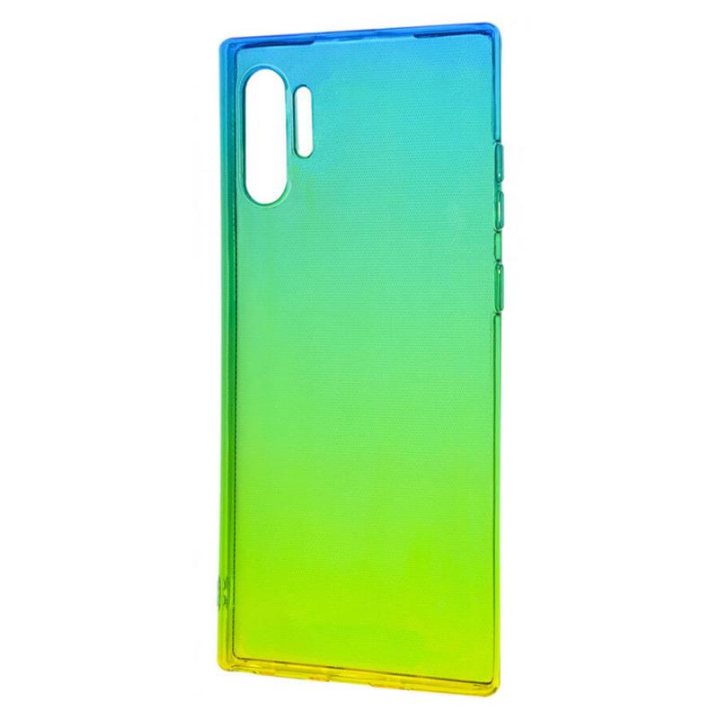 TPU чехол Gradient Color для Samsung Galaxy Note 10 Plus