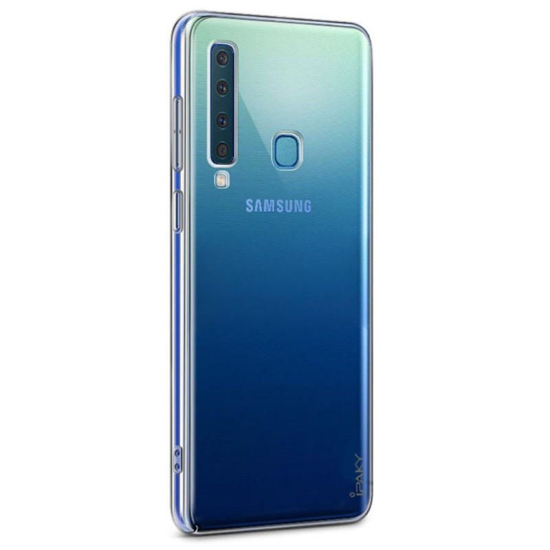 TPU чехол iPaky Clear Series (+стекло) для Samsung Galaxy A9 (2018)