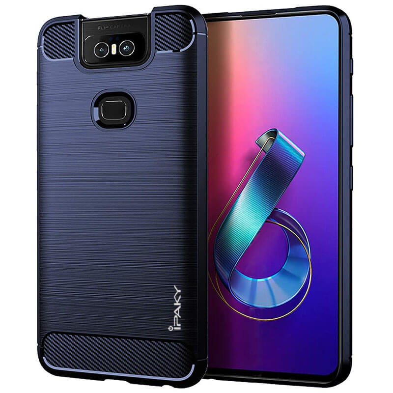 TPU чехол iPaky Slim Series для Asus Zenfone 6 (ZS630KL)