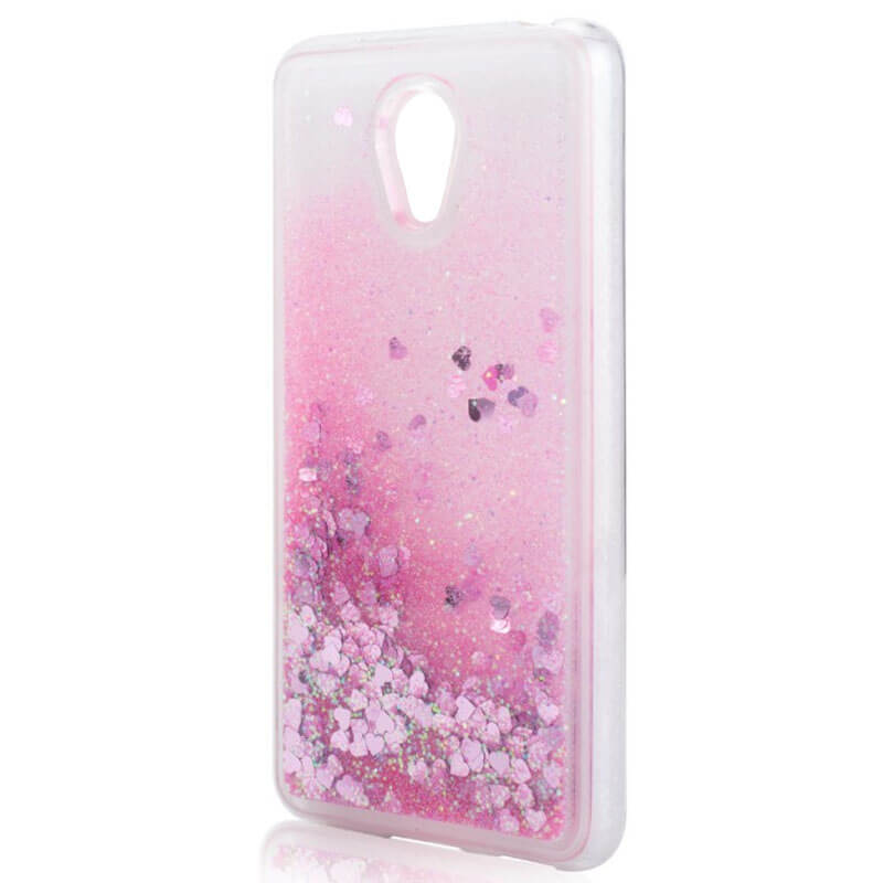 TPU чехол Liquid hearts для Meizu MX6