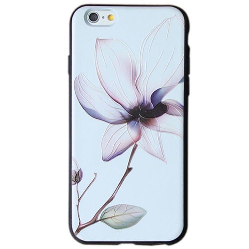 "TPU чехол Магнолия для Apple iPhone 6/6s (4.7"")"