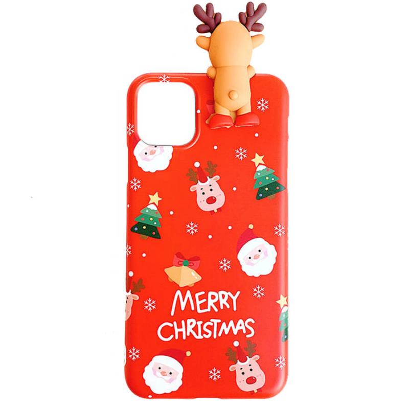 "TPU чехол Merry Christmas с игрушкой для Apple iPhone 11 (6.1"")"