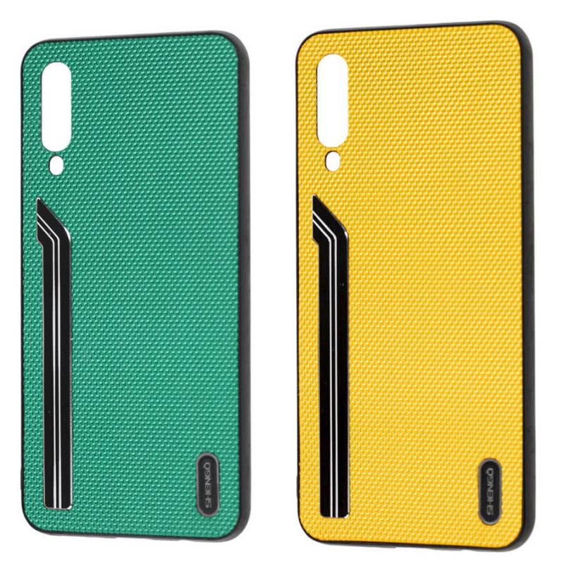 TPU чехол SHENGO Textile series для Samsung Galaxy A50 (A505F) / A50s / A30s