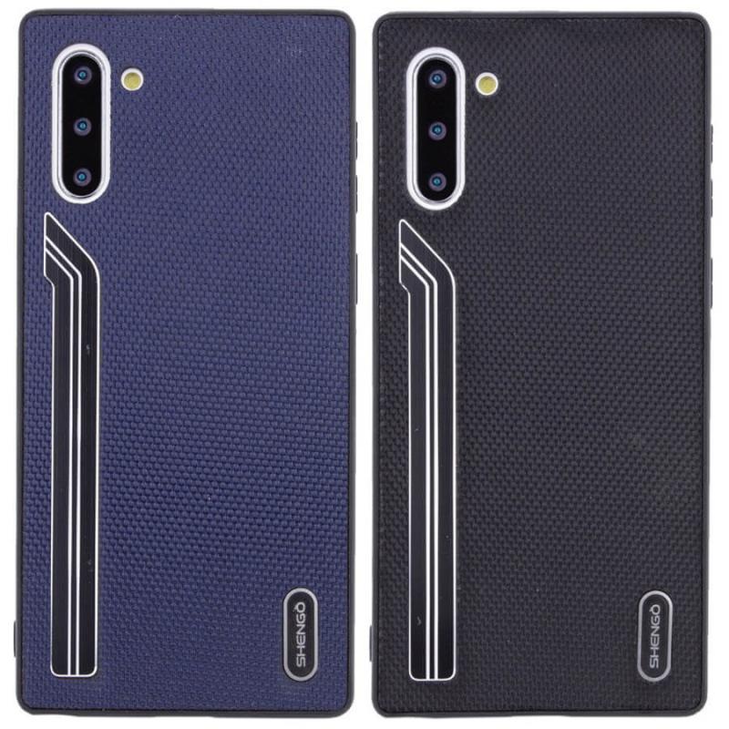 TPU чехол SHENGO Textile series для Samsung Galaxy Note 10