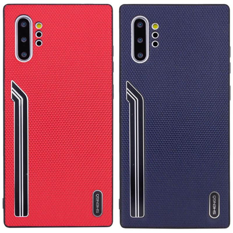 TPU чехол SHENGO Textile series для Samsung Galaxy Note 10 Plus