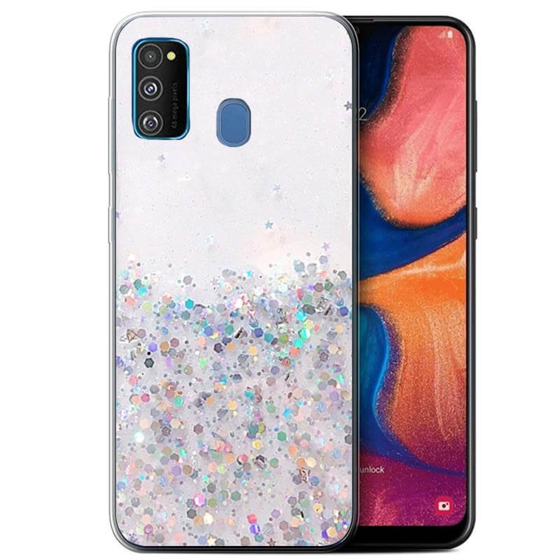 TPU чехол Star Glitter для Samsung Galaxy M30s