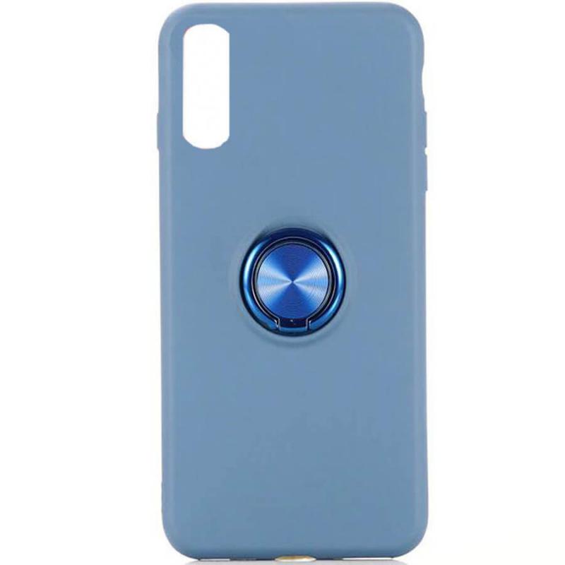 TPU чехол Summer ColorRing под магнитный держатель для Samsung Galaxy A70 (A705F)