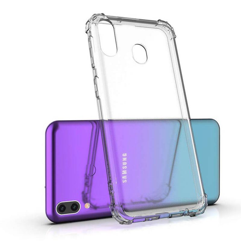 TPU чехол Ultrathin Series 0,33mm с усиленными углами для Samsung Galaxy A60 (A606F)