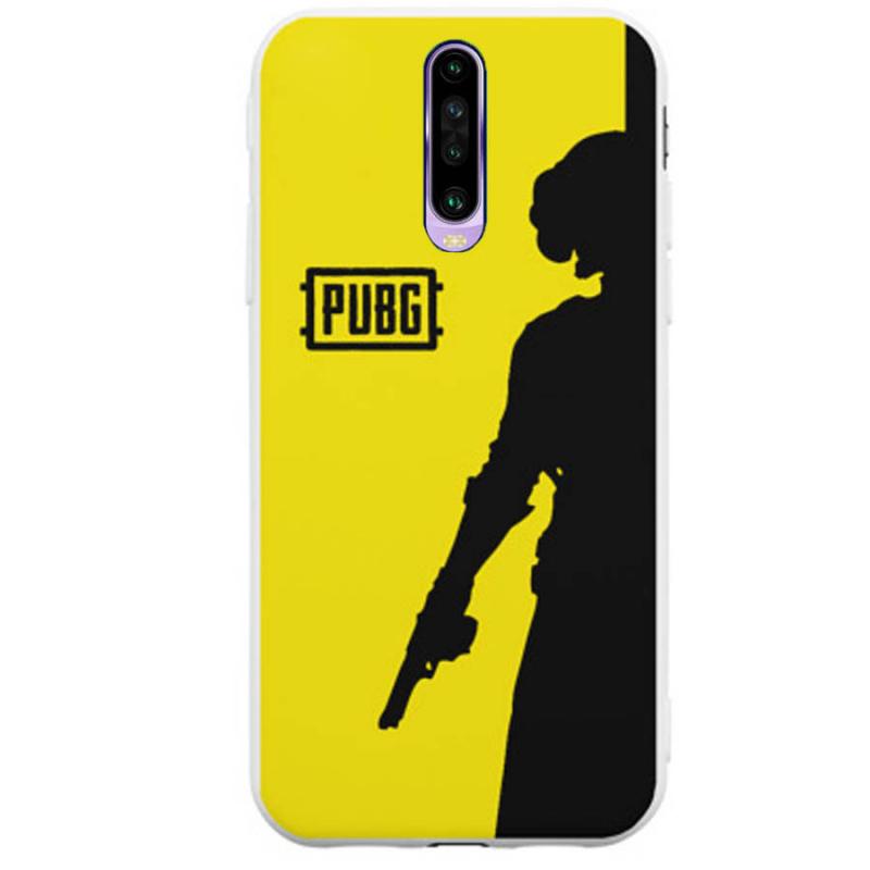 TPU накладка PUBG для Poco X2